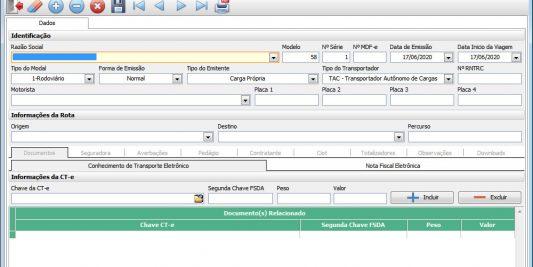 Easy CT-e | Sistema de Emissão de CT-e, MDF-e e BP-e